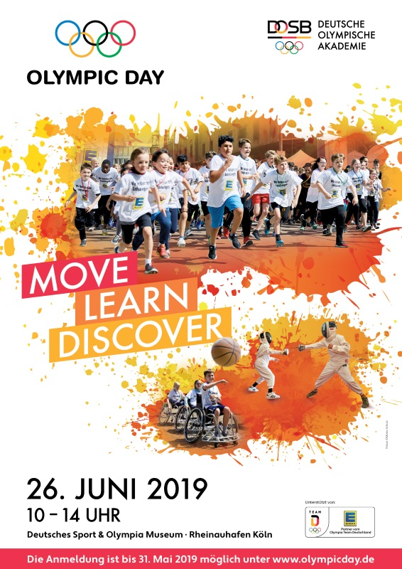 OlympicDay 2019 Plakat